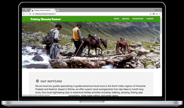 Trekking Website