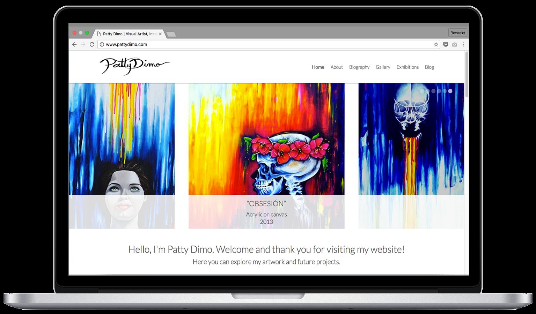 Patty Dimo &#8211&#x3B; Artist Website