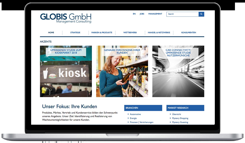 Globis Consulting WordPress Website