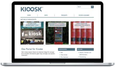 Kioosk WordPress Theme